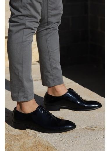 Ayakland Ayakland P100 Rugan %100 Deri Klasik Erkek Ayakkabı Siyah